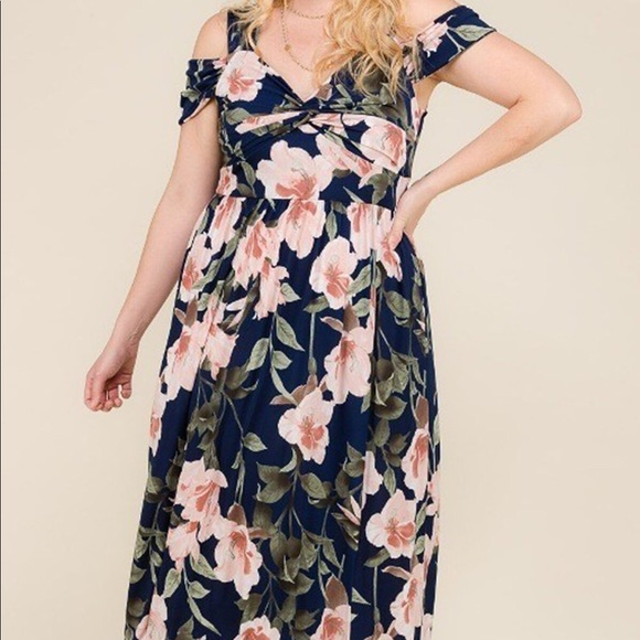 Fervent Boutique Dresses | Plus Size Maxi Dress | Poshmark